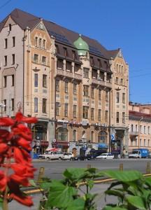 Hotel Dostojewski **** in St. Petersburg Reisen