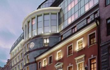 Fassade - Hotel Ambassador, St. Petersburg