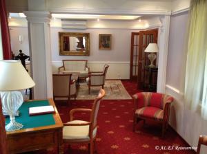 Schreibtisch im Boutique-Hotel Golden Garden