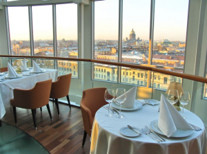 Restaurant im Hotel Ambassador in St. Petersburg