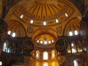 Moschee Hagia Sophia in Istanbul.