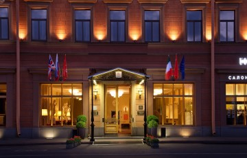 Fassade Hotel Angleterre St. Petersburg
