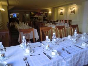 Restaurant im Hotel Dostojewski