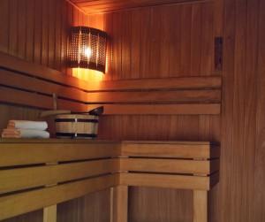 Sauna im Hotel Dostojewski