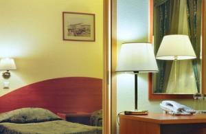 Doppelzimmer im Hotel Dostojewski