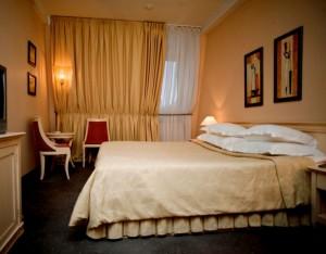 Doppelzimmer im Boutique-Hotel Golden Garden