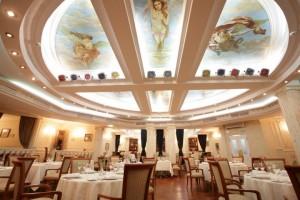 Restaurant im Boutique-Hotel Golden Garden in St. Petersburg