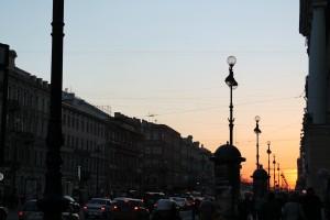 Newski Prospekt in St. Petersburg