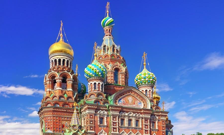 Christi-Erlöserkirche in St. Petersburg