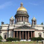 Die Isaak Kathedrale in St. Petersburg