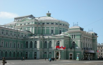 Mariinsky-Theater in St. Petersburg