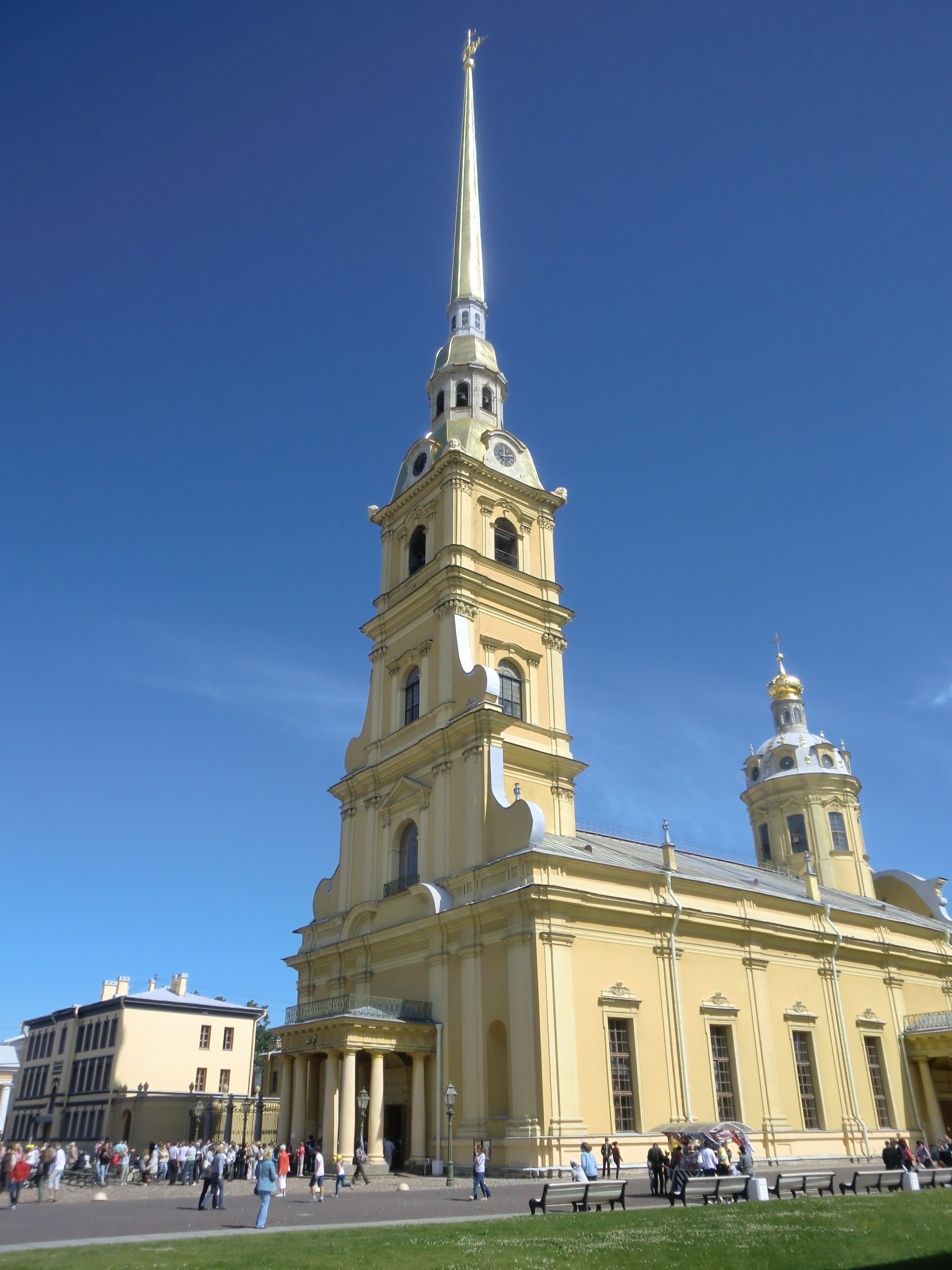 Peter-Paul-Kathedrale in St. Petersburg