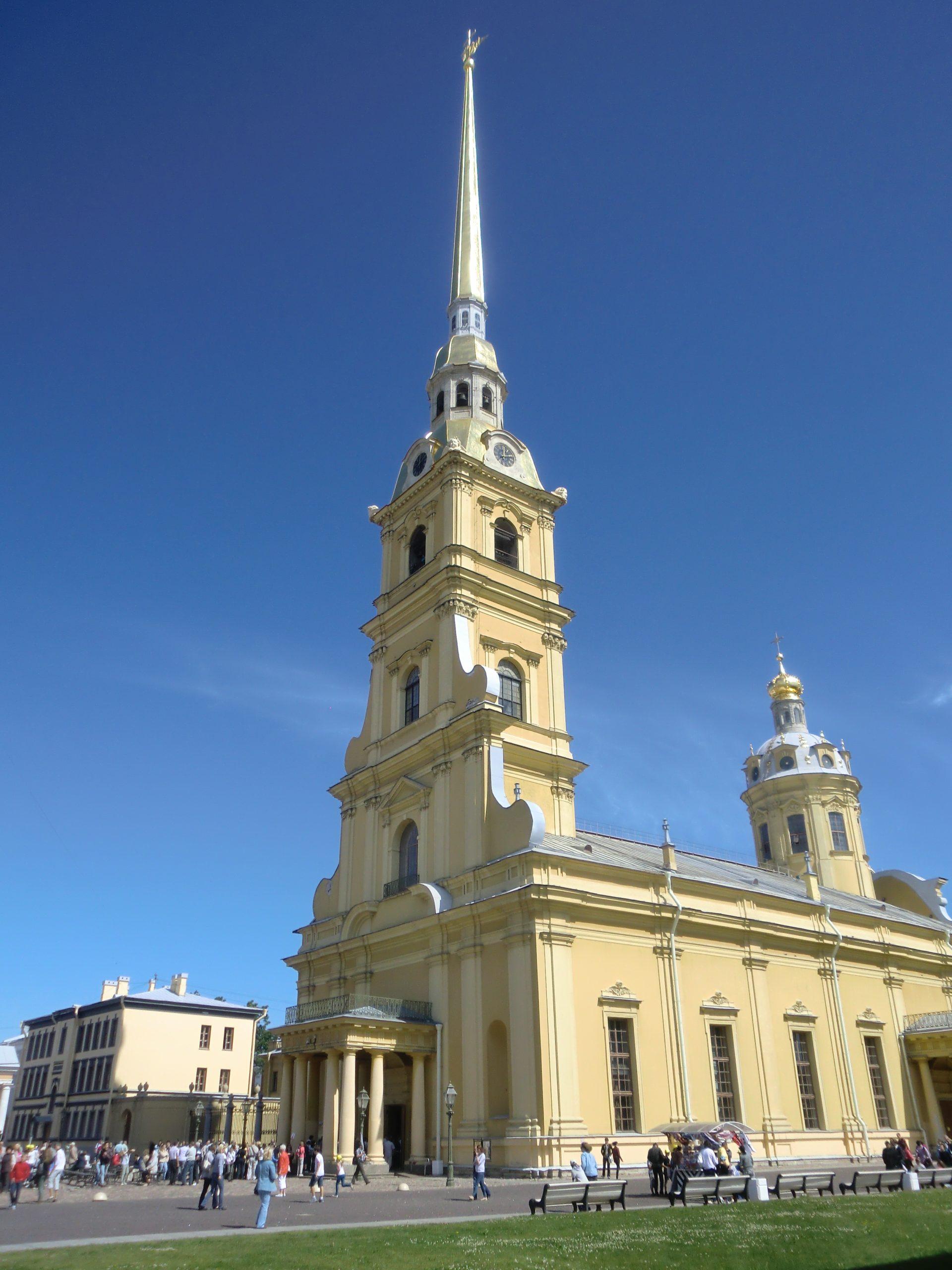 Peter-Paul-Kathedrale in St. Petersburg