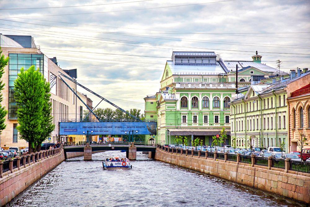 Mariinsky-Theater in St. Petersburg