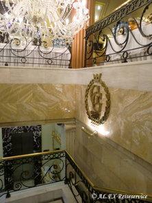 Lobby-Bereich Hotel Golden Garden