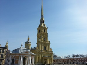 Museen in St. Petersburg: Peter-Paul-Festung