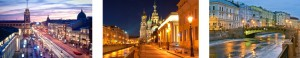 Besuch in St. Petersburg