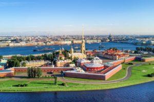 Flusskreuzfahrt Moskau und St. Petersburg, St. Petersburg Peter-Paul-Festung