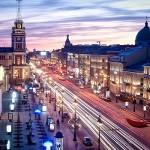Newski Prospekt, St. Petersburg Reisen