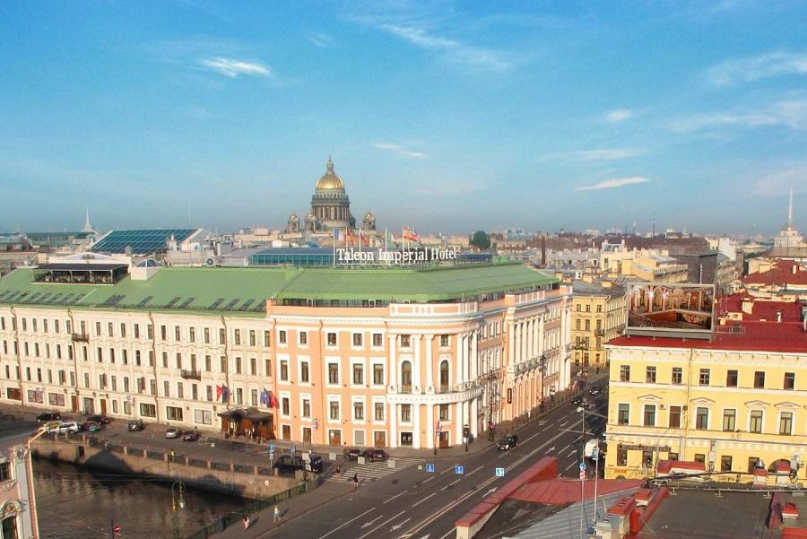 Hotel Taleon Imperial In Sankt Petersburg Zentral Am