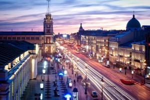 Newski Prospekt, St. Petersburg