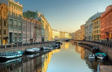 Kanal in St. Petersburg