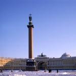 Silvester in St. Petersburg. Blockade Leningrads