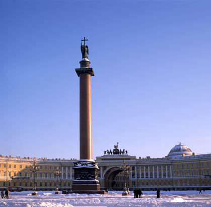 Silvester in St. Petersburg. Blockade Leningrads