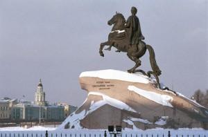 Silvester in St Petersburg