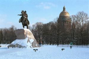 Silvester in St. Petersburg