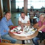 Kunden fotografieren: Reisegruppe