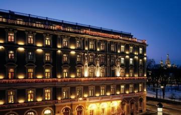 Fassade - Grand Hotel Europa, St. Petersburg