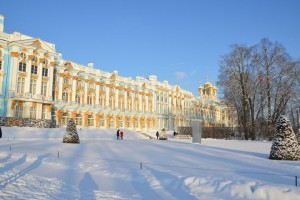 St. Petersburg im Winter