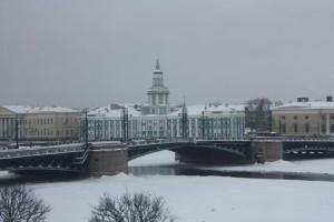 Kunden fotografieren: Newa im Winter