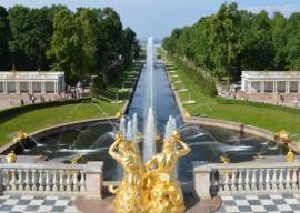 Peterhof, St. Petersburg Reisen