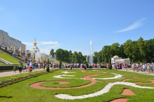 Peterhof in St. Petersburg
