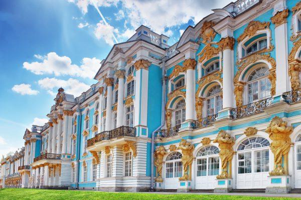 Katharinen-Palast St. Petersburg Reise