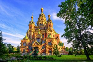 St. Peter und Paul Kathedrale St. Petersburg