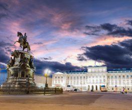 St. Petersburg Städtetrip