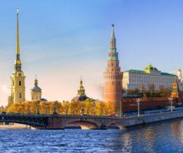 Kombireise Petersburg Moskau