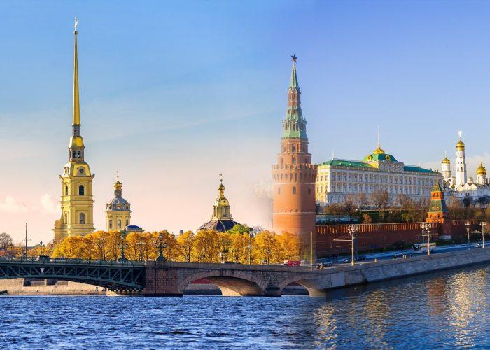 Städtereise Moskau und St. Petersburg, Rundreise Moskau Sankt Petersburg, Rundreise Moskau St Petersburg 2019