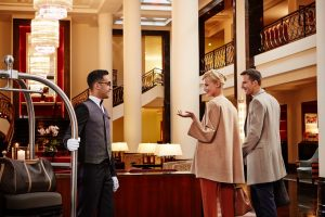 Rezeption, Gästeempfang Corinthia Hotel