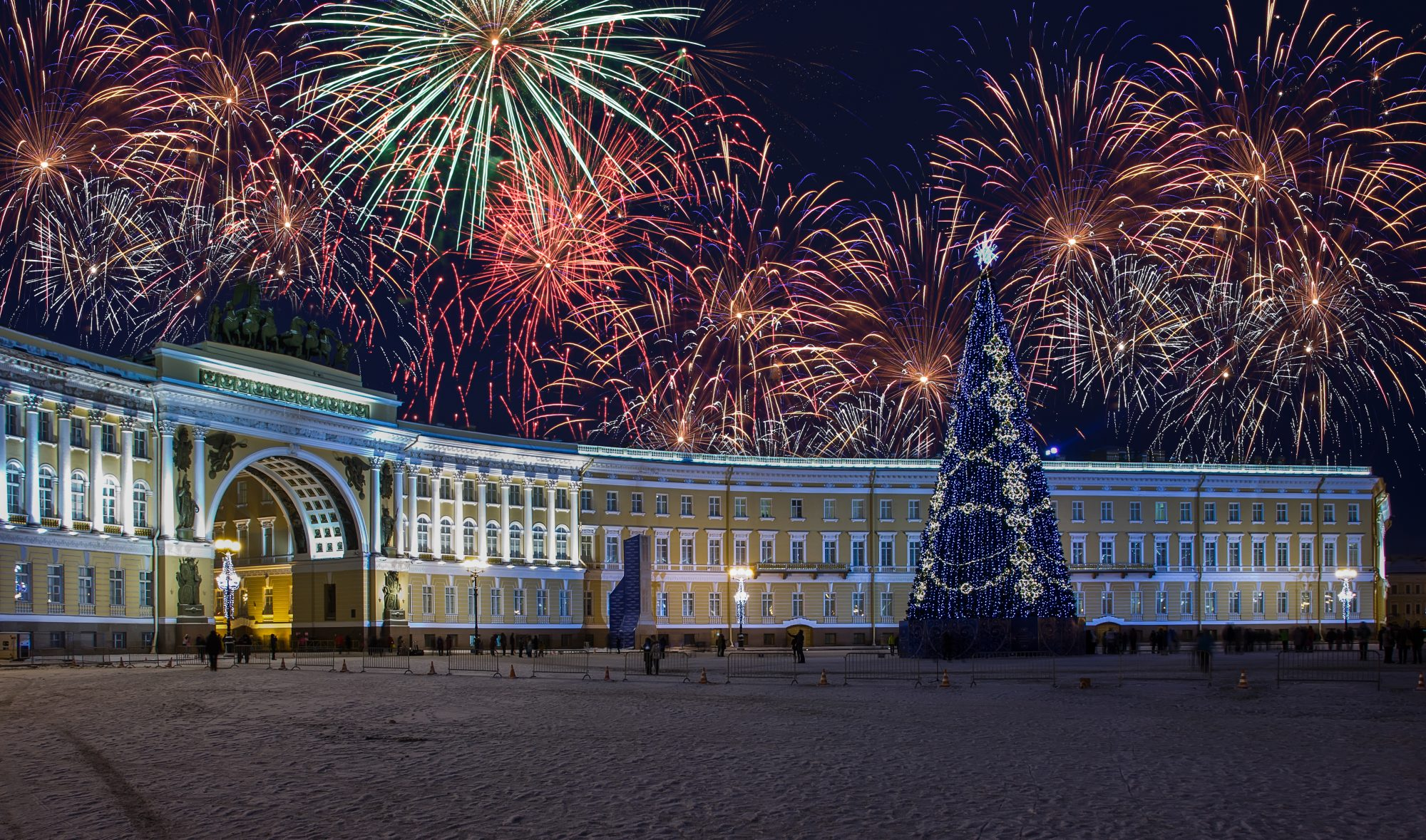 Silvester in St. Petersburg