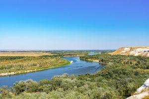 Fluss Wolga