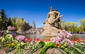 Wolgograd: Mamaev Hügel