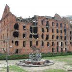Wolgograd: Pawlow Haus, Ruine aus der Schlacht um Stalingrad