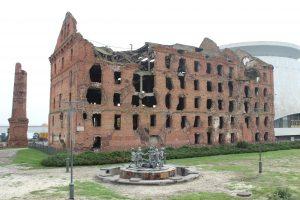 Wolgograd: Pawlow Haus, Ruine aus der Schlacht