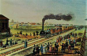 Eisenbahn St. Petersburg Zarendorf