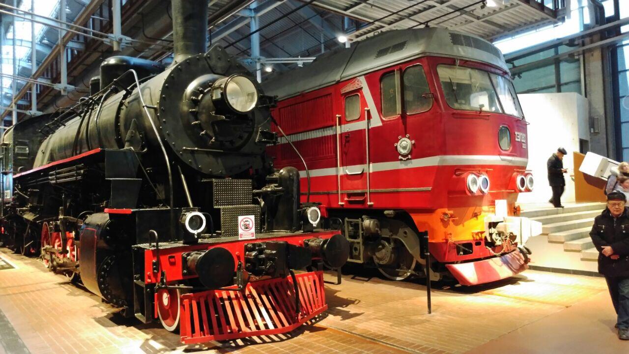 Russisches Eisenbahnmuseum St  Petersburg Er U00f6ffnet