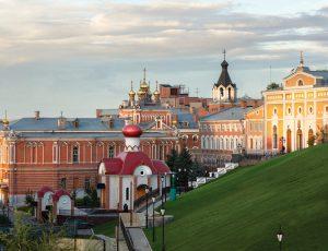 Stadtansicht Samara - WM 2018